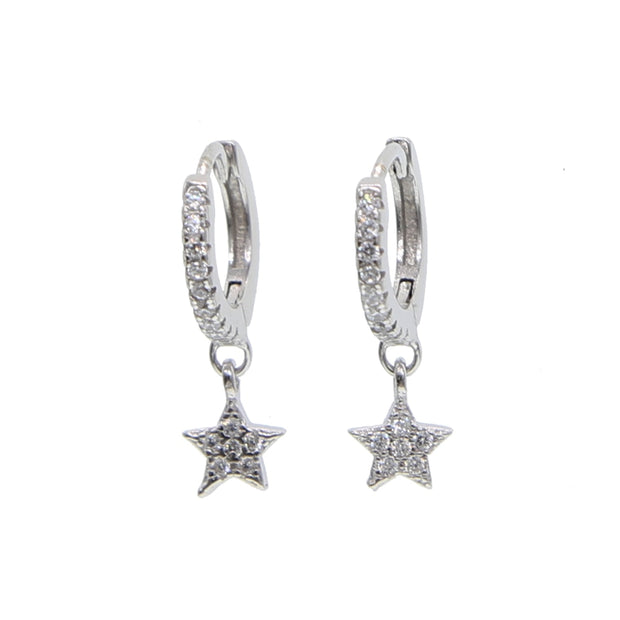 Aurora Sterling Silver Earrings