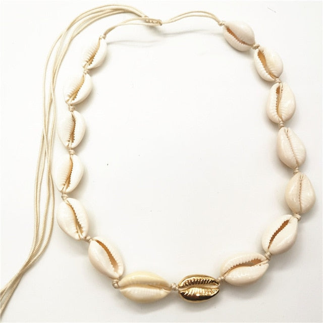 Fatima Shell Necklace