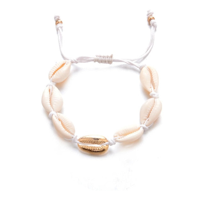 Kimberly Shell Anklet