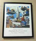 2007 Signed Philadelphia Book Festival Poster - David Wiesner