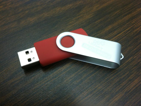4GB Flash Drive - Library Logo