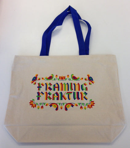 Framing Fraktur/Free Library Tote Bag