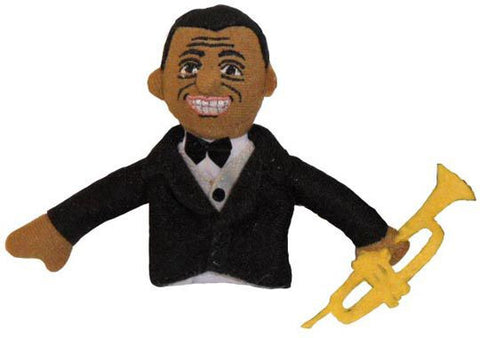 Louis Armstrong Finger Puppet/Magnet