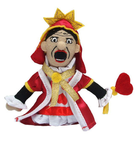 Queen of Hearts Finger Puppet/Magnet