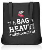 "Free Library ""Heavy with Enlightenment"" Tote Bag"