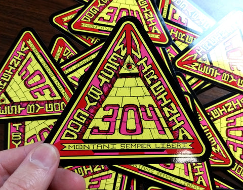 West By God Virginia - Stickers