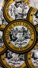 West Virginia Likes to Party- Stickers