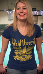 West Virginia Crest - Women's T-Shirt