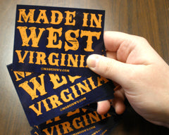 Made In West Virginia Sticker