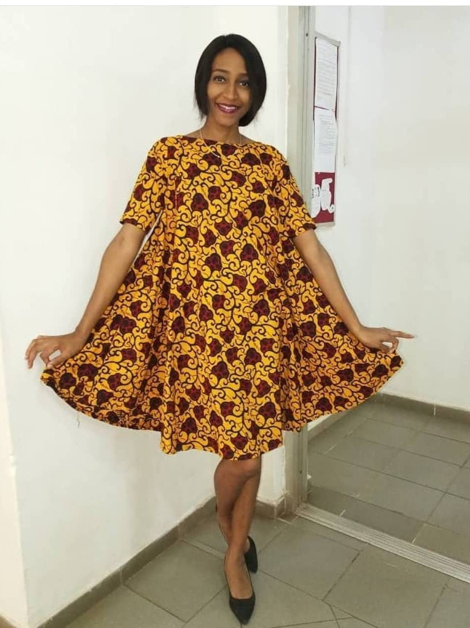 Women S African Clothing Ankara Short Gown African Print Dress Roya Splendor Of Africa,Maxi Dress For Wedding Guest With Sleeves
