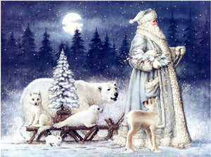 5D Diamond Painting Christmas Santa