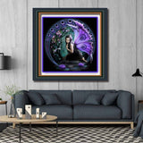 5D Diamond Painting Full Square Butterfly Fairy Girl
