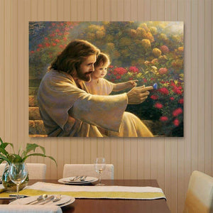 Jesus Full Round Driill 5D Diamond Painting