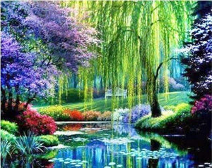 5D Full Drill Scenic Diamond Painting Loads Of Color