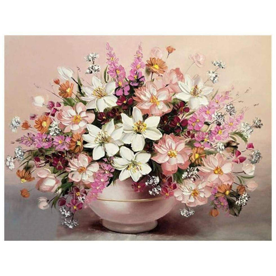 5D Still Flowers Full Square Drill Painting Many Design To Choose From