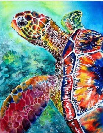 DIY Sea Turtle Diamond Art Painting