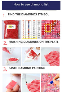 Mosaic New Age Diamond Painting Full Square Drills