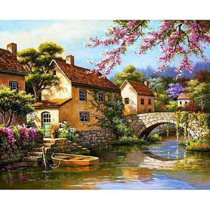 Beautiful Scenery 5D DIY Diamond Art Painting
