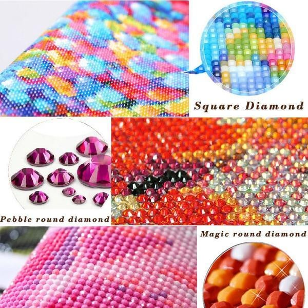 DIY 5D Special Shaped Diamond Partial Drill Many Design To Choose From