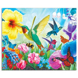5D DIY Hummingbird Magnolia Flower Diamond Painting