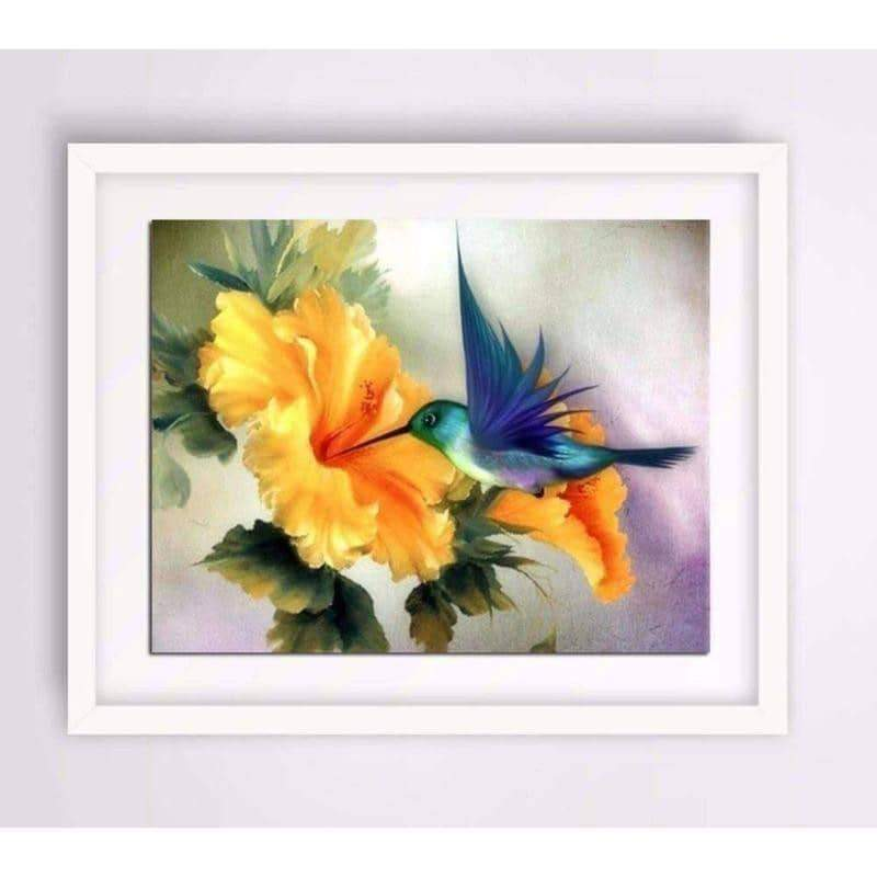 Feisty Hummingbird 5D Diamond Painting
