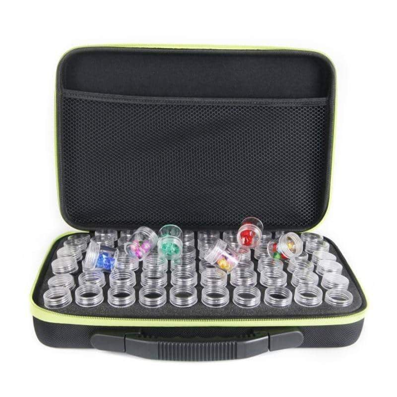 60 Bottles Diamond Painting Box Tool Container