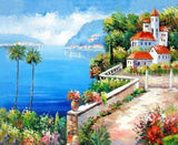Beach House By The Shore 5D Diamond Painting