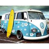 Iconic VW Bus Full Round Drill Diamond Painting