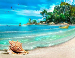 Tropical Island 5D Diamond Painting