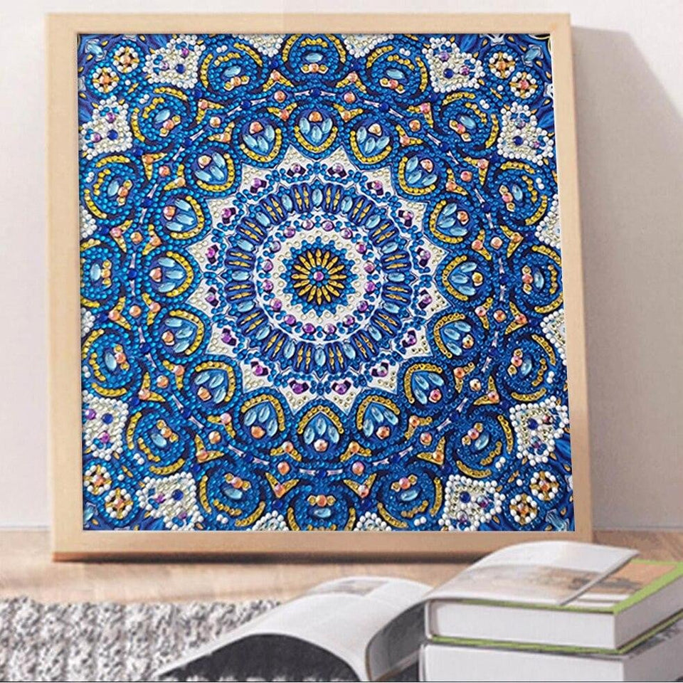 Special Shaped 5D Partial Drill Mandala Diamond Painting