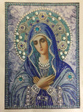New Special Shaped Virgin Mary Diamond Art Painting