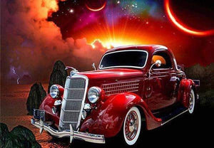 5D Diamond Painting 1940s Classic car