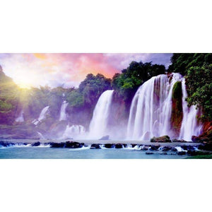 Diamond 5D Cross Stitch Waterfall Diamond Painting