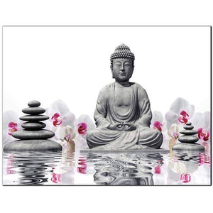 5D Full Square Buddha Diamond Art Painting