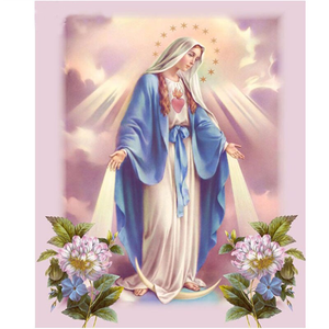 DIY Virgin Mary Diamond Art Painting Full Drill Kit