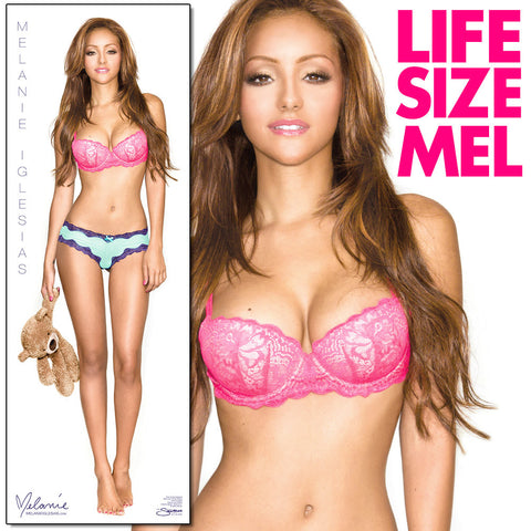 "Melanie Iglesias LIFE-SIZE Bedtime with Teddy - 24""x69"" Wall Poster</br><b>* Signed Poster Available!</b>"