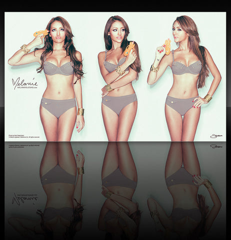 "Melanie Iglesias Watergun Fun 11""x19"" Poster"
