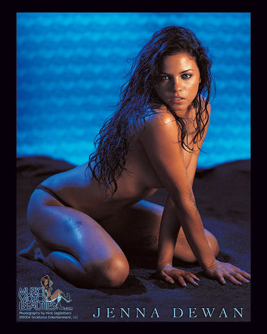 Jenna Dewan Tatum - Music Video Beauties RARE 8x10 Glossy: Black Sand - Version A