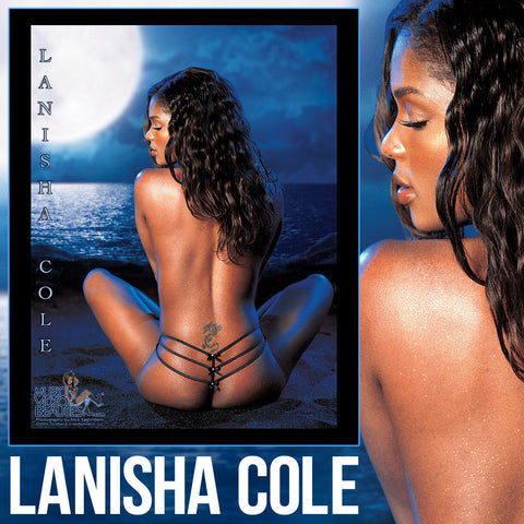 Lanisha Cole - Music Video Beauties RARE 8x10 Glossy: Full Moon
