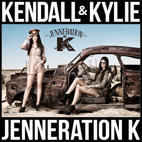 "Kendall & Kylie Jenneration K - Limited Edition 36""x24"" WMB Wall Poster"