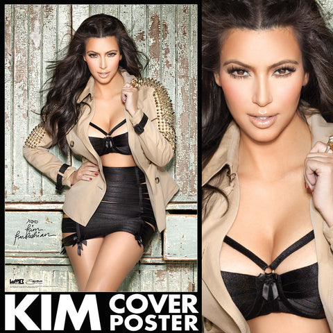 "Kim Kardashian - Limited Edition 24""x36"" WMB Cover Wall Poster"