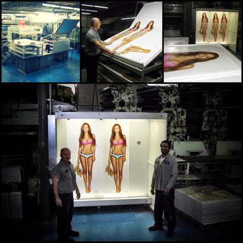 Melanie Iglesias LIFESIZE Poster Production