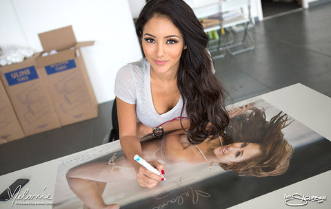 "Melanie Iglesias Tan Bikini 24""x36"" Wall Poster * Signed Poster Available!"