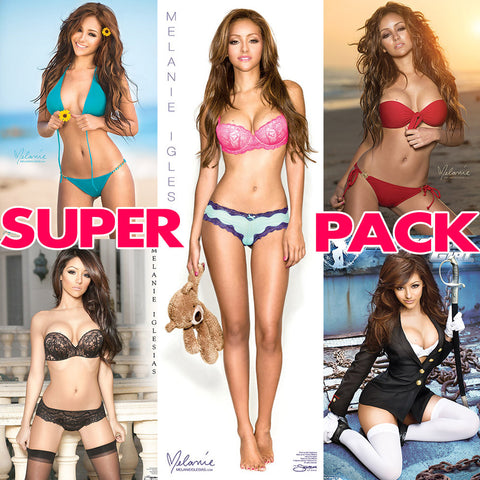 Melanie Iglesias Ultimate Collection <br>5 Poster Super Pack - SAVE $$!