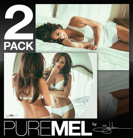 PURE MEL by Saglimbeni: Posters 1 & 2 <br /><b>* Signed Posters Available!</b>