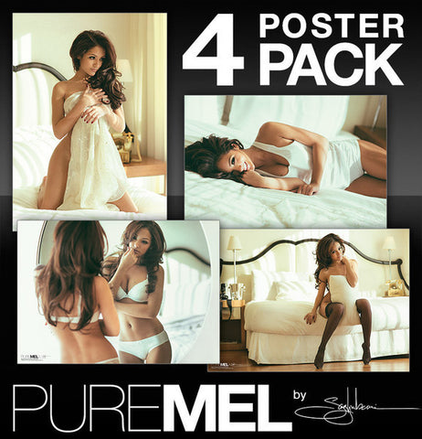 PURE MEL by Saglimbeni: 4-Poster Pack - AUTOGRAPHED