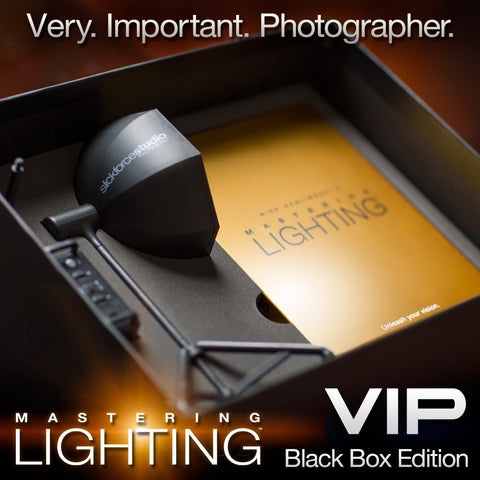 Mastering Lighting: Volume One </br>VIP Black Box Autographed Edition