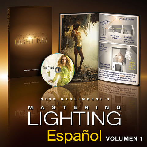 Nick Saglimbeni's Mastering Lighting™ Volume One Español