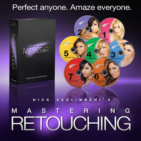 Mastering Retouching™ - 7 Levels</br> Download or DVD Box Set