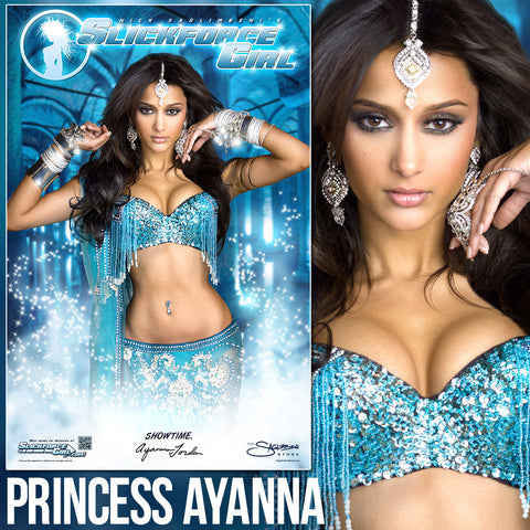 "SlickforceGirl Princess Ayanna 11""x17"" Collector's Poster"